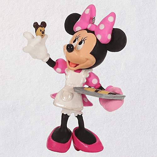 Hallmark Keepsake Christmas Ornament 2019 Year Dated Disney Minnie Mouse One Smart Cookie
