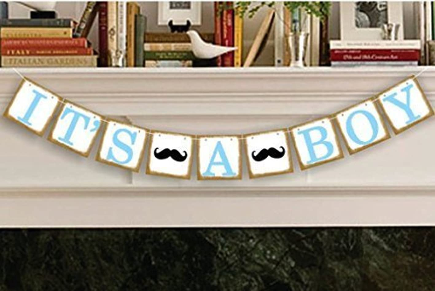 It's a Boy Banner Baby Shower Banner Garland, Baby shower Decoration, Photo Booth Props, New Contemporary Design from UsASales Seller snofxpphjgz961