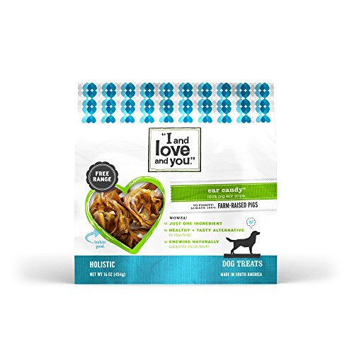 I and love and you Ear Candy Pig Ear Strips