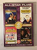 All-Star Films DVD 4 Films on 2 DVD's-Strictly Ballroom PG 2. Human Traffic - 18 3. Carry on Doctor - PG 4. Death Train - 15. by Various