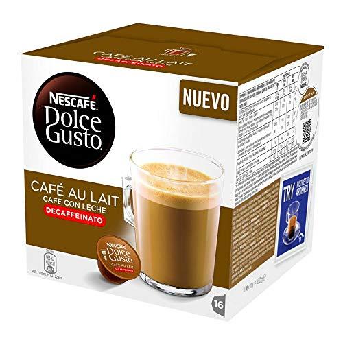 Dolce Gusto Cafe Au Lait Decaf 96 cápsulas por Shop4Less
