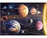 Solar System Space Puzzle for Adults, 1000 Piece Jigsaw Puzzle & Bonus...