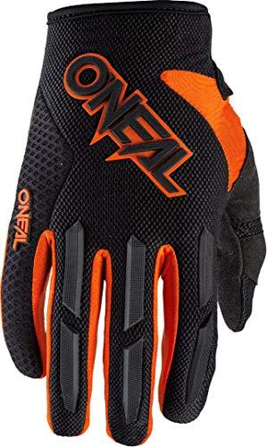 O'NEAL | Fahrrad- & Motocross-Handschuhe | Kinder | MX MTB Mountainbike | Verstellbarer Klettverschluss, Vorgeformte Passform Element Youth Glove (Orange, XL (7))