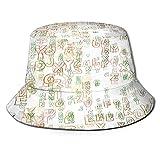 PUIO Sombrero de Pesca,Catálogo de diseño gráfico de página Web de Fondo,Senderismo para Hombres y Mujeres al Aire Libre Sombrero de Cubo Sombrero para el Sol