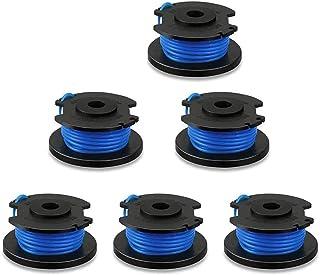 """String Trimmer Vervanging Spool Line, 0.06 """"Autofeed Vervanging Spoelen voor Ryobi One+ AC14RL3A 18V, 24V, 40V, voor Black..."""