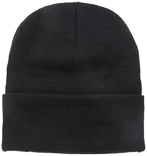 Wigwam Men's Oslo Wool Classic Watch Cap with Acrylic Headliner, Black, One Size