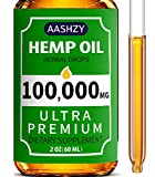 Hemp Seed Oil Drops 100,000 - Mint - Natural Omega 3, 6, 9 Source -2oz
