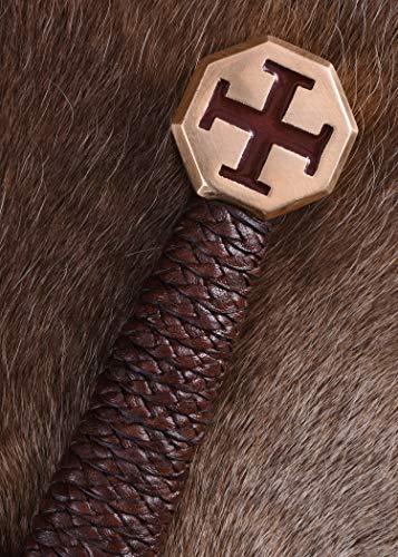 Templer-Schwert mit Scheide Kreuzfahrerschwert Ritter Mittelalter - 6