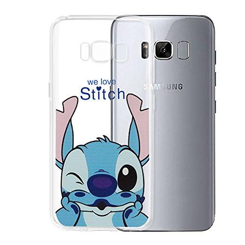 Tienda vcomp® Transparente Silicona TPU Funda Carcasa con diseño de Dibujos Animados Disney ¡Feliz Navidad. para Samsung Galaxy S8+/Galaxy S8Plus 6.2'