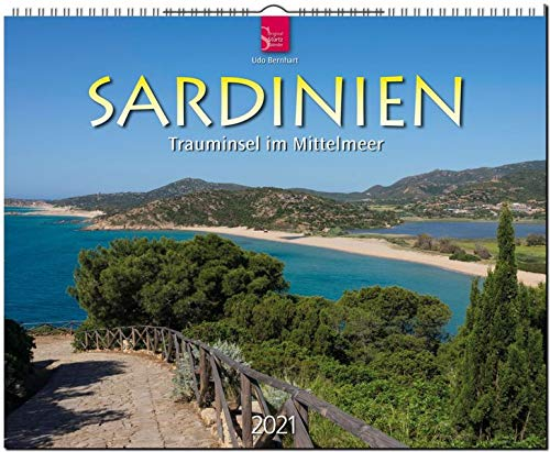 Sardinien - Trauminsel im Mittelmeer: Original Stürtz-Kalender 2021 - Großformat-Kalender 60 x 48 cm