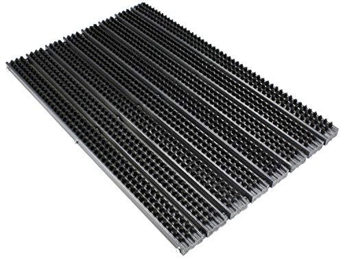 Bürstenmatte/Schuhabstreifer Atlantik (59x38,5) das Original von BÜMAG - witterungsbeständig da Kunststoff und PVC-Borste - Perfekter Fussabstreifer für den Innen- und Aussenbereich!
