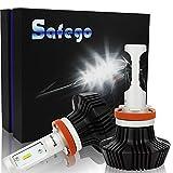 Safego Lampadine H7 LED 8000LM, Kit Lampada Sostituzione per Alogena Lampade e Xenon...