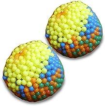 1000 pelotas infantiles multicolor para jugar (diámetro: aprox. 5,5 cm) para piscina infantil Bouncy Playhouse Playground Activity Juguete (juego de 1 o 2 piezas)