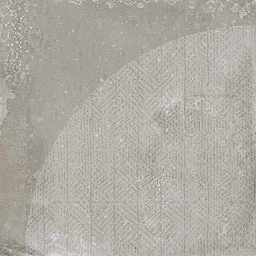 Nais - Baldosas cerámicas para suelos - Colección Urban - Color Arco Silver Antislip (20x20 cm) - Caja de 1 m2 (25 piezas)
