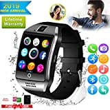 Bluetooth Smartwatch Touchscreen Kamera Wasserdicht Smart Uhr Sport Smart Watch mit Whatsapp...