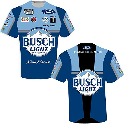 Ouray Sportswear NASCAR Mens Vintage Sheer S//S T Chase Elliott X-Large Heather Royal