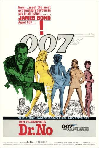 Poster 60 x 90 cm: Dr. No di Entertainment Collection - Stampa Artistica Professionale, Nuovo Poster Artistico