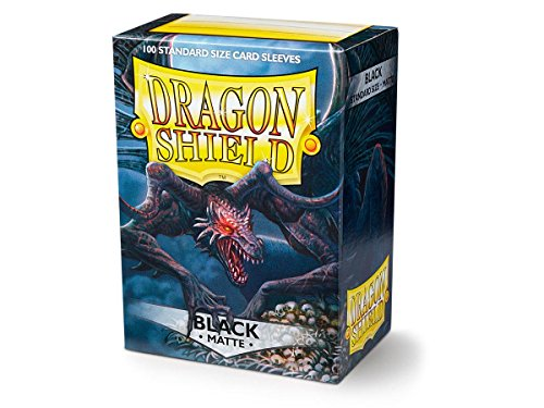 Dragon Shield Matte Black 100 Protective...