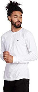 INTO THE AM Men's Casual Long Sleeve Graphic Basics Tee Shirts