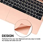 Palm Rest Cover Skin and Trackpad Protector Compatible with 2019 2018 MacBook Air 13-Inch Model A1932 with Touch Id… 13 Specially Design For 2016 2017 2018 2019 Released MacBook Pro 15 with touch bar model A1707 A1990 Prevent your new MacBook to avoid scratches by watch, buckles, jewelry and other metal objects Airflow Design, easy to uase with no bubble, renew the worn-out palm rest, It's a great way to update your worn-out palm rest with a different fresh new look