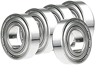 5x 6014-ZZ Ball Bearing 70mm x 110mm x 20mm Double Shielded Rubber Seal NEW