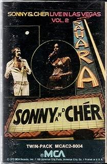 Sonny & Cher ~ Live in Las Vegas Vol. 2 (Double Length Audio Cassette)