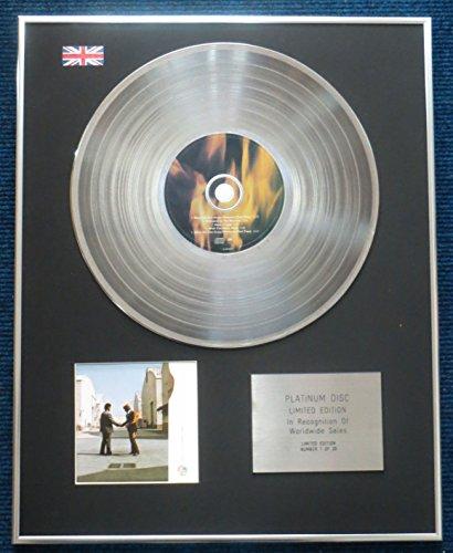 Century Music Awards Pink Floyd - Disco de disco de platino de edición limitada