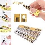 Diealles Shine l'estensione della Nail Art 200 Pezzi Nail Art Accessori d'oro UV.