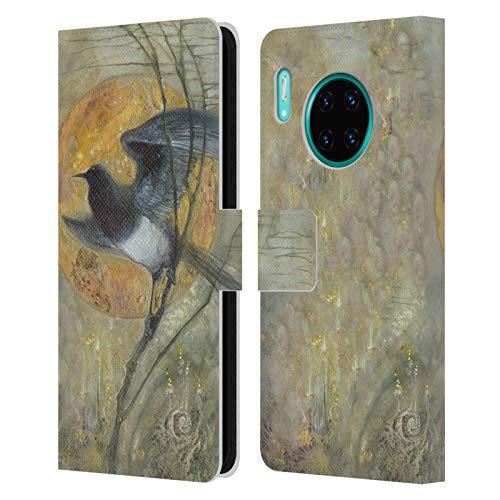 Officiële Stephanie Law Ekster Vreemde dromen Lederen Book Portemonnee Cover Compatibel voor Huawei Mate 30 Pro / 5G