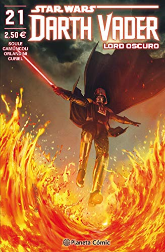 Star Wars Darth Vader Lord Oscuro nº 21/25 (Star Wars: Cómics Grapa Marvel)