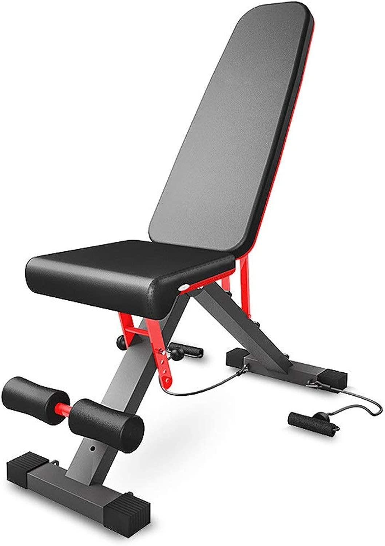 トレーニングベンチ ホームフィットネスチェア多機能フィットネスダンベルトレーニングビッグフラットスツール商業ジムスポーツ機器 (色 : ブラック, サイズ : 107x44.5x33.5cm)