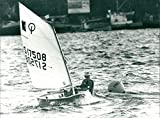 Klassen: Soling Star, Optimist - Vintage Press Photo