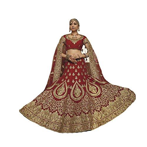 Braut Hochzeitskleid indischen muslimischen Frauen Kleid Hijab Skirt Rock Lehenga Choli Dupatta Anzug Partei tragen 401
