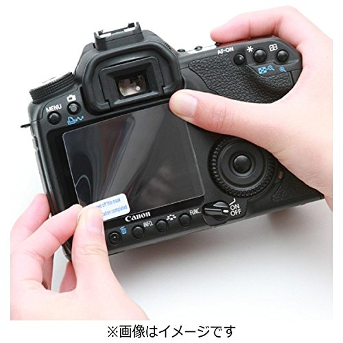 イージーカバー 液晶スクリーンプロテクター2枚+クロス入り [Canon EOS 5DS / 5DS R/ 5D Mark 3 Mark�V 用]
