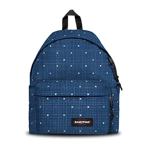 Eastpak PADDED PAK'R Zaino Casual, 40 cm, 24 liters, Blu (Little Grid)
