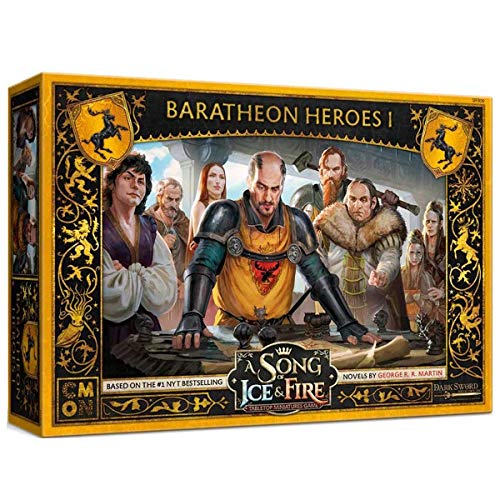 Cool Mini or Not A Song of Ice & Fire: Baratheon Heroes I - English