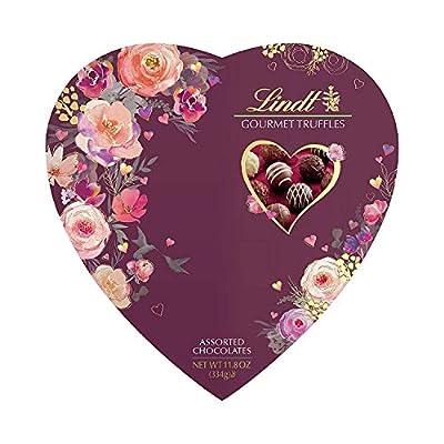 Valentine Heart Gourmet Truffles Gift Box