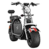 DOS Electric Scooter Harley Electric Car Electric Skateboard Lithium Battery Harley Electric Walker Adult Wide...