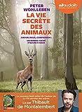 La Vie secrète des animaux - Livre audio 1 CD MP3 - Audiolib - 07/11/2018