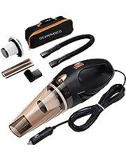 SHOPPOWORLD Portable Car Dust Booster 12V DC Car Handheld Blower Vacuum Cleaner Vacuum Car Cleaner Tool Set