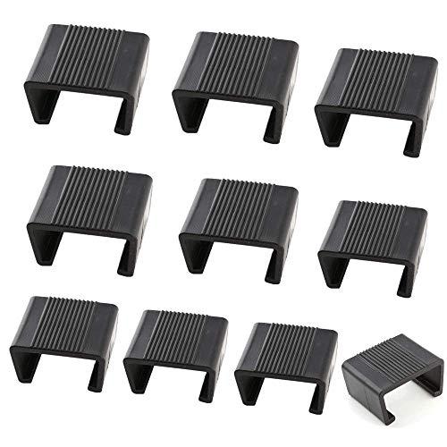 10Pcs Wicker Furniture Clips Plastic Rattan Sofa Clips Alignment Sofa Rattan Chair Fasteners Clip Sectional Connector Non Slip for Outdoor Patio