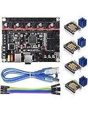 BIQU DIRECT 3D Printer Part SKR V1.4 32-Bit Control Card Smoothieboard & Marlin Open Source SKR V1.3 Upgrade Support TMC2209/TMC2208/TMC2130/A4988/8825/Stepper Motor Driver (SKR V1.4)