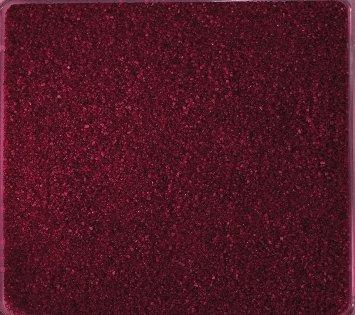 Gekleurd zand, decoratief zand gekleurd ca. 0,5 mm. 1 kg in wijnrood BURGUND -03