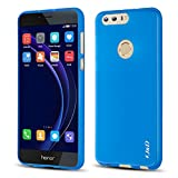 J&D Case Compatible for Huawei Honor 8 Case, Drop Protection Slim Cushion Shock Resistant Protective TPU Slim Case for Huawei Honor 8 Bumper Case, Blue