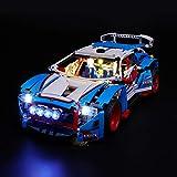 LIGHTAILING Set di Luci per (Technic Auto da Rally) Modello da Costruire - Kit Luce LED Compatibile con Lego 42077 (Non Incluso nel Modello)