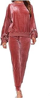 Energy Womens Classy Oversize Fleece Soft Jogger Activewear Set