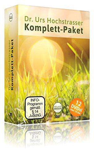 Dr. Urs Hochstrasser Rohkost Komplettpaket – 12 Vorträge auf DVD zum Thema Rohkost Rezepte, Lebensmittel & Ernährung – auch für Anfänger geeignet