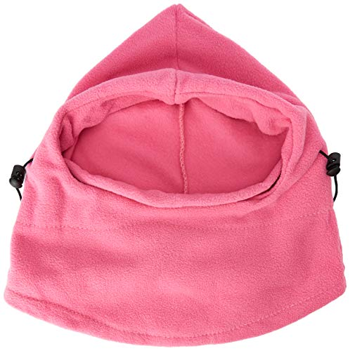 Butterme Winter Polar Fleece Balaclava Neck Warmer Winddicht vol gezicht masker Cs Hat mutsen voor snowboarden Ski Motorfiets Sport Hot Pink