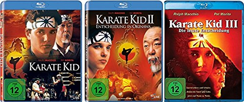 Karate Kid Teil 1-3 (1+2+3) [Blu-ray Set]