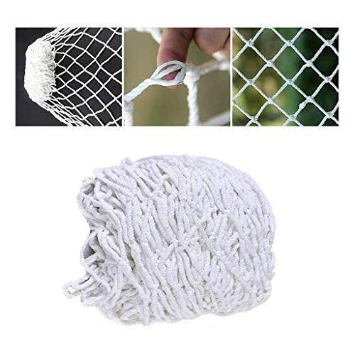 Buy Safety Net for Kids White Fence Net Cat Net Weaving Net Garden Plant Climbing Swing Net Rope Bal...